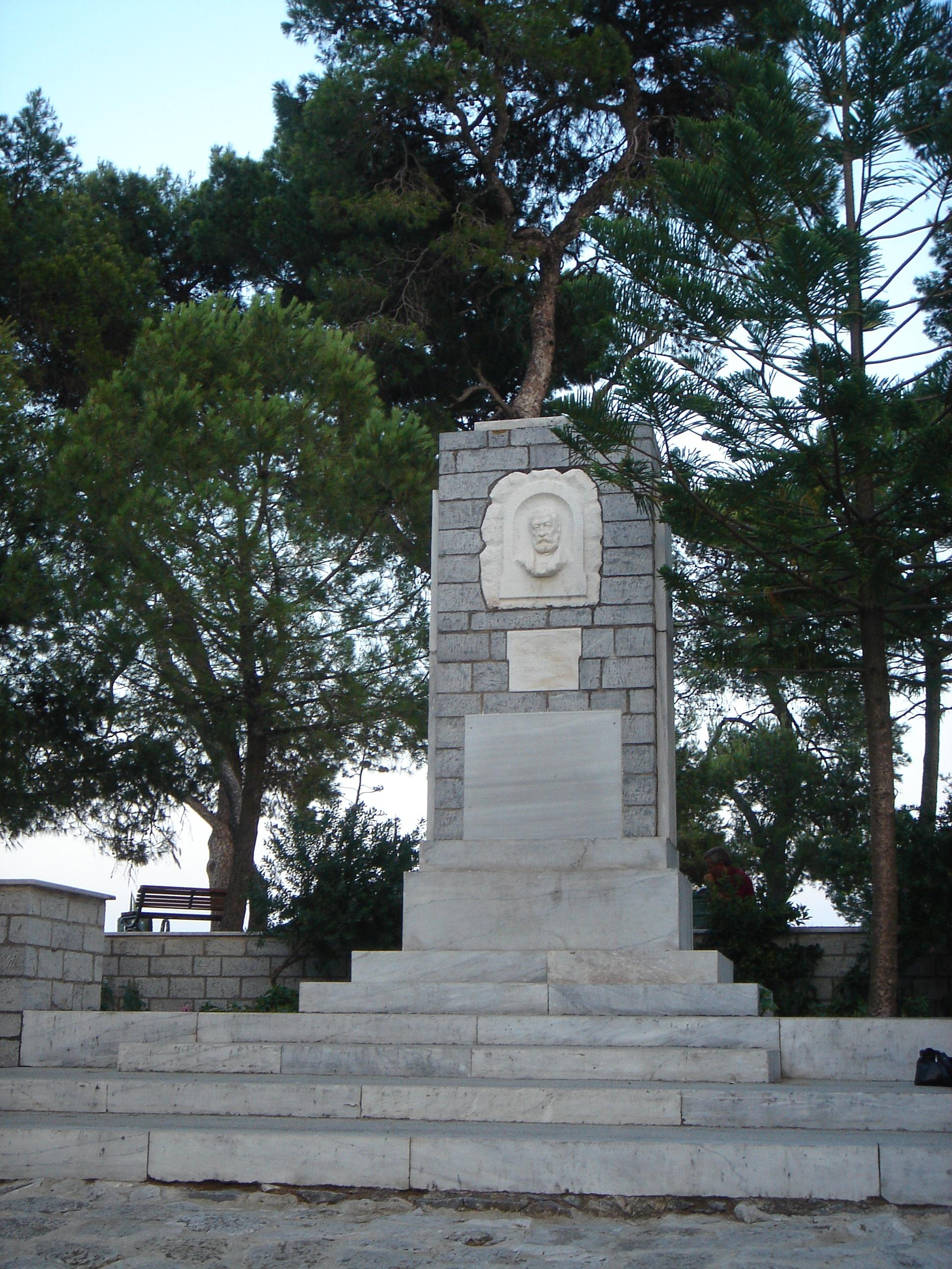Denkmal Papadiamantis